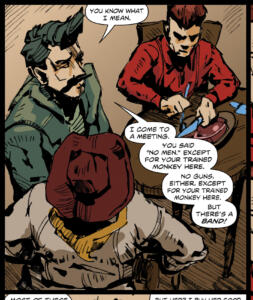 Carrying Iron - Page 2, Panel 1