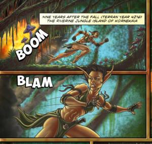 Refuge - Page 1, Panels 1-2